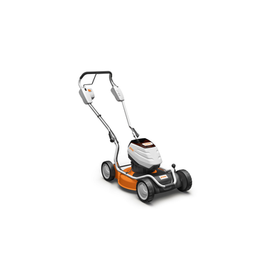 stihl rma 2 rt tondeuse batterie tract e 100 mulching. Black Bedroom Furniture Sets. Home Design Ideas