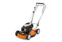 STIHL RM 4 RT Tondeuse thermique robuste avec lame 100 % mulching